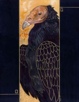Klimt's Vulture by ursulav