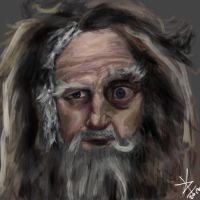 Radagast - Speed Painting by KKzStudios