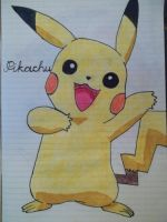 Pikachu by RaVjak20