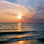 Sunset on the beach 3 by FrancescaDelfino