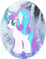  ~{MLP}~ Princess Flurry Heart ~{REMAKE}~ by ColorDream123
