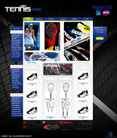 Tennis Me Web-For Sale by Color-Art