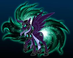 Pony of the Endless Void by Riyami