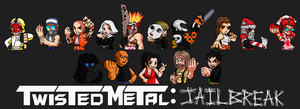 Twisted Metal: Jailbreak Characters by jc013