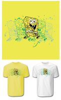 SPONGEBOB TSHIRT IDEA 1 by optimusdesigns
