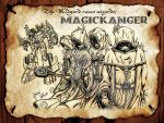 MAGICKA! Time of runes wizard rangers of Midgard! by khriztian