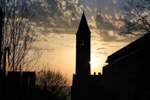 Sun Behind the Clock Tower by 4everN3rdy