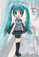 Hatsune Miku - Vocaloids by tomoyo-chan10