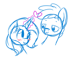 Gentle Stares by MelodicMarzipan