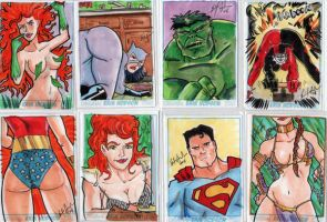 Pittsburgh Con Sketchcards 2 by ErikHodson