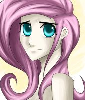 Fluttershy sketch by Tao-mell