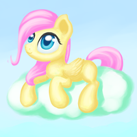 My little fluttershy by 1NaKiR1