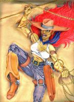 cowgirl by inkinblood