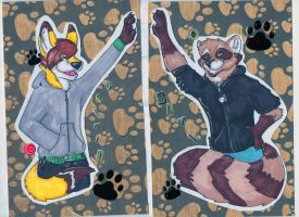 Shay and Spirit Badges by milleniumocarina