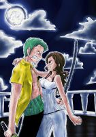 Zoro and Fuu entry by Ruk1z