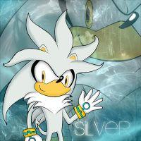 Silver The Hedgehog by SayuriSchmidt