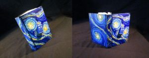 Starry Night Tardis Book by DragonCid