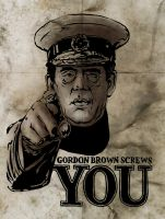 Gordon the Brown by YesOwl