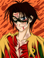 Jason Todd: Side Scuffle by Kaninkimchi
