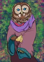 owl lady by maharuha