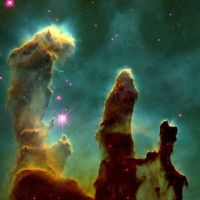 Pillars of Creation in EagleN. by UniversePaparazzi