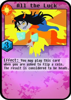Homestuck card game: color demo by iwantcandy2