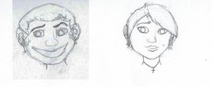 Caricatures by SapphireSquire