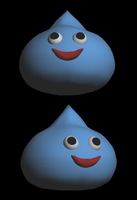 DQ Slime in 3D by TheCatlady