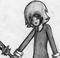 Mad stance - crona by TheUnknownlover