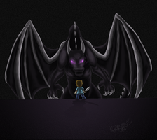 Vs The Enderdragon by KLFoxglove