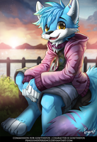 Commission for Gojithefox by PenguinEXperience