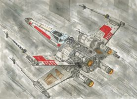 X-Wing [Death Star Trench Run] by TheOnlyCraigEver