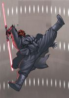 Darth maul by can-i-bus by shalomone