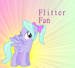 Flitter Fan Background by sakurathebird