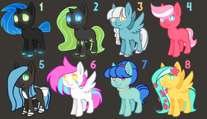 Pony AUCTION - 40 pts - 4/8 OPEN by infectiousadoptables