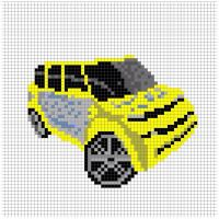 Scion Perler Bead Pattern by Chasersgaming