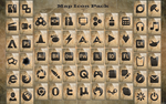 Map icon pack by lewamora4ok