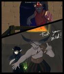 Dragon age Inquisition Vidasala vs Iron Bull. by ANGEL-418