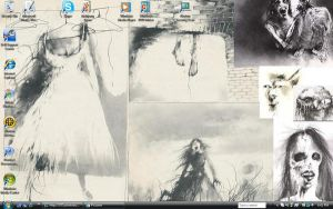 Scary Stories Desktop by Relics-Angel