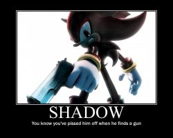 Shadow motivational poster by SilverBlade234