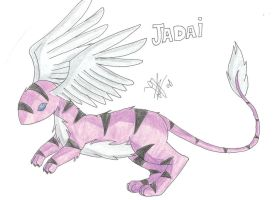 Fakemon: Jadai by 12liza12