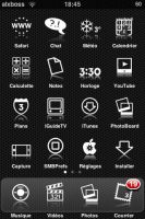 First screen on my ipod touch by alxboss