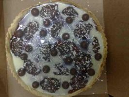 Chocolate Pizza by CrIms0nCloVeR