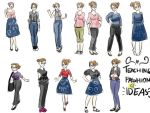 Teaching fashion ideas by oo-irish-oo
