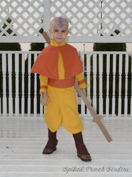 Aang - Airbender from Avatar by Traeonna