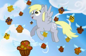 Derpy's Muffin Parade digital version by The-Danitor