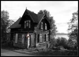 Norwegian old house by el-larso
