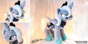 Princess Luna (Season 1) MLP Plushie by LiChiba