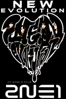2NE1 NEW EVOLUTION IPOD IPHONE WALLPAPER by Awesmatasticaly-Cool
