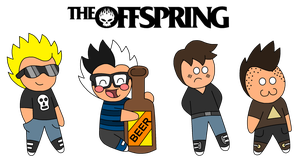 THE OFFSPRING Chibis by IvaIvanic